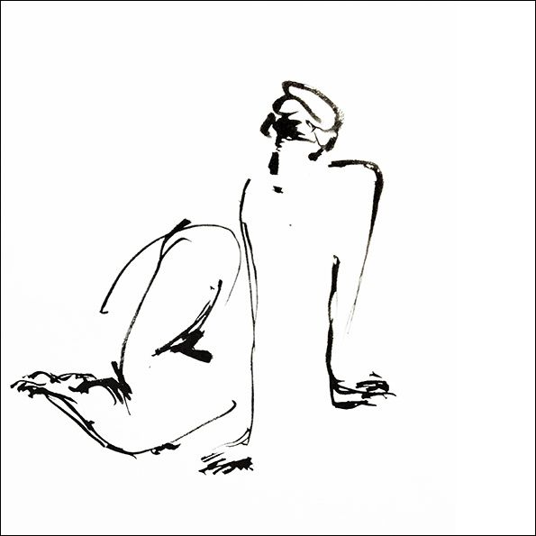 4 notions essentielles en art : les pleins, les vides, les rythmes et les profondeurs. Aujourd'hui, c'est plutôt les vides.