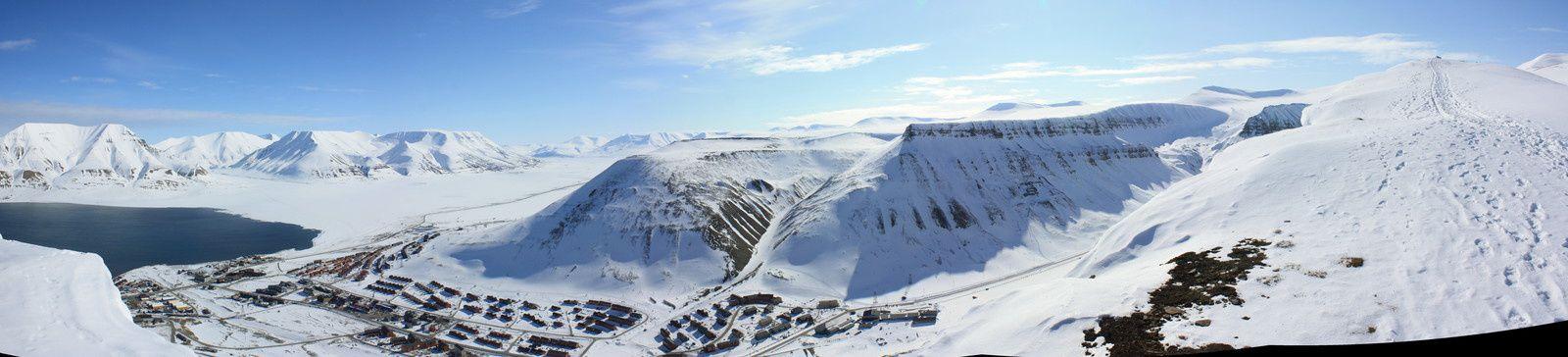 """panorama du """"sommet"""" pour prouver qu'il faisait beau"""