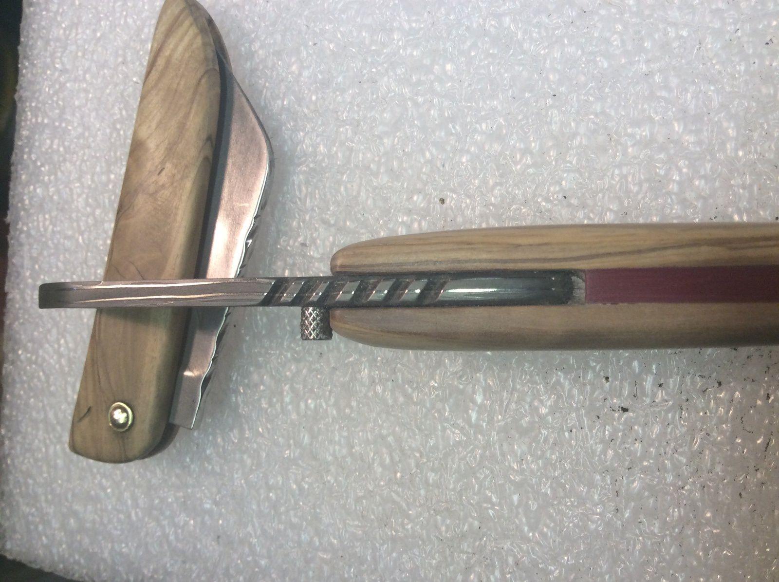 couteaux hirondelle lame forgé