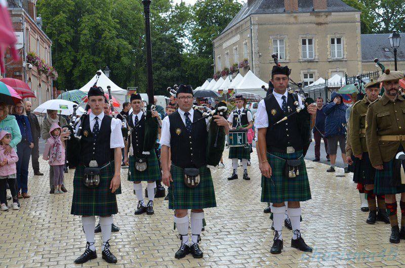 Les fêtes franco-écossaises à Aubigny sur Nère