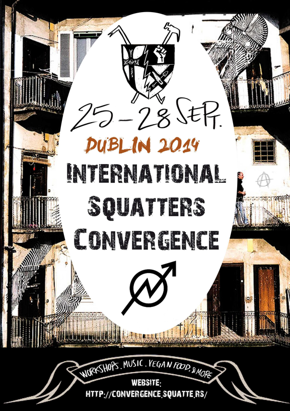 Dublin - 25 au 28 septembre - Rassemblement international de squatteurs