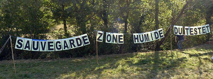 Appel - Barricades à la ZAD du Testet
