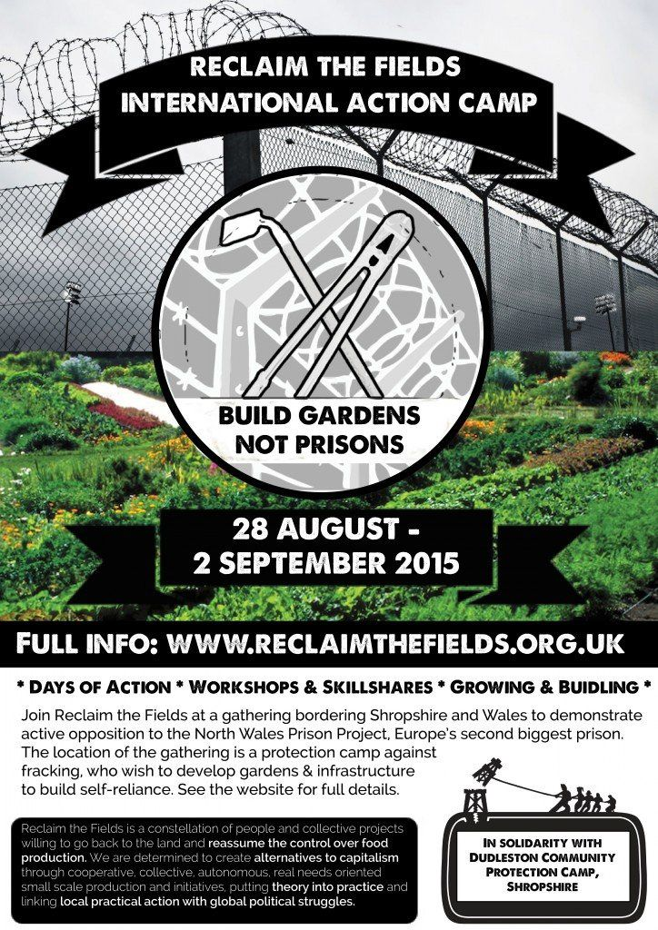[28 août - 2 sept.] Camp international Reclaim The Fields