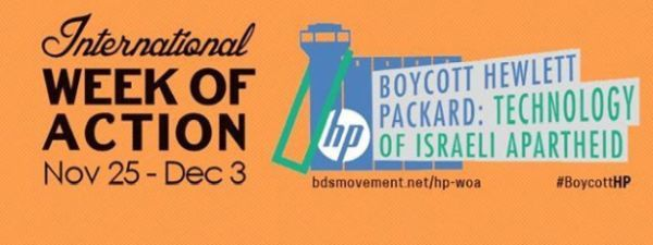 [25 nov. au 3 déc. 2016] Campagne internationale de boycott Hewlett-Packard (HP)