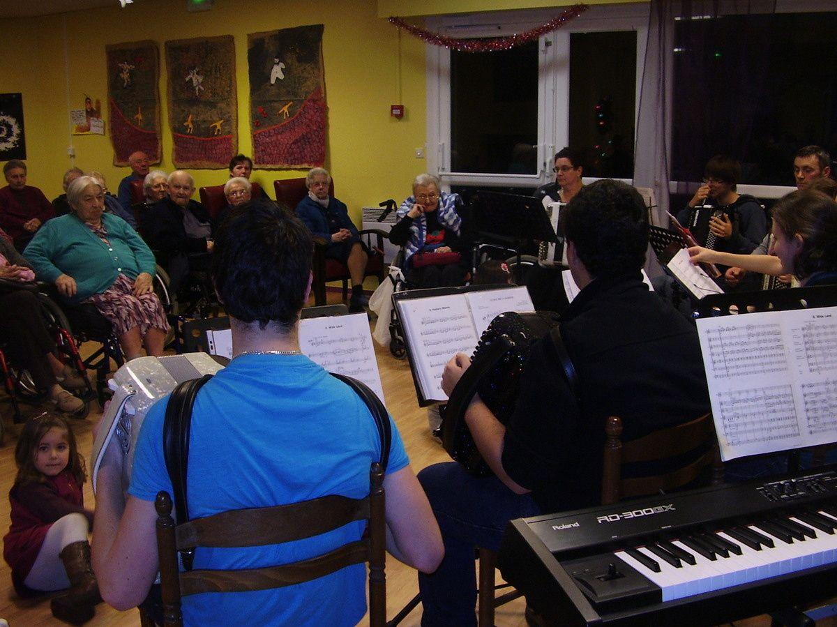 Audition de l'école de musique - 18 décembre 2013