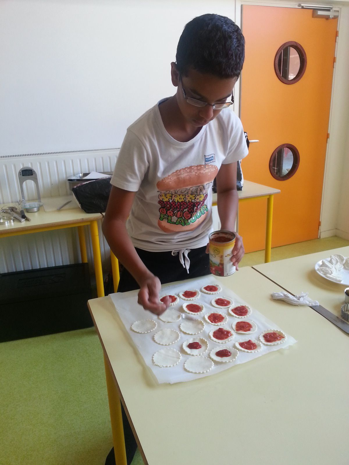 Atelier mini pizza