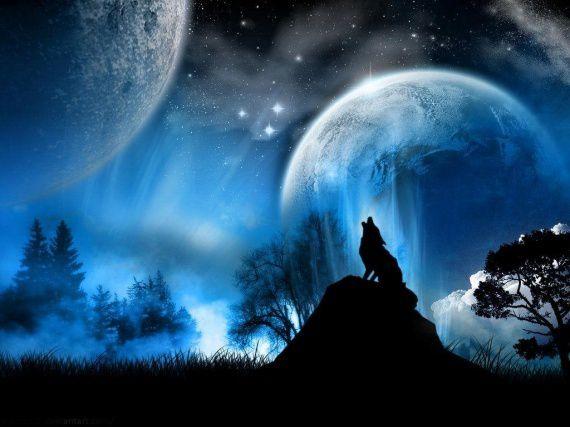 Légende Cherokee: le combat de loups...
