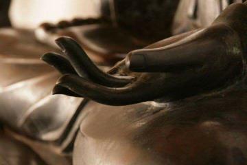 La main ouverte...