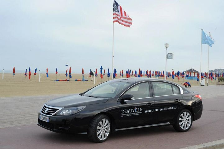renault partner of the deauville american film festival fcia french cars in america. Black Bedroom Furniture Sets. Home Design Ideas
