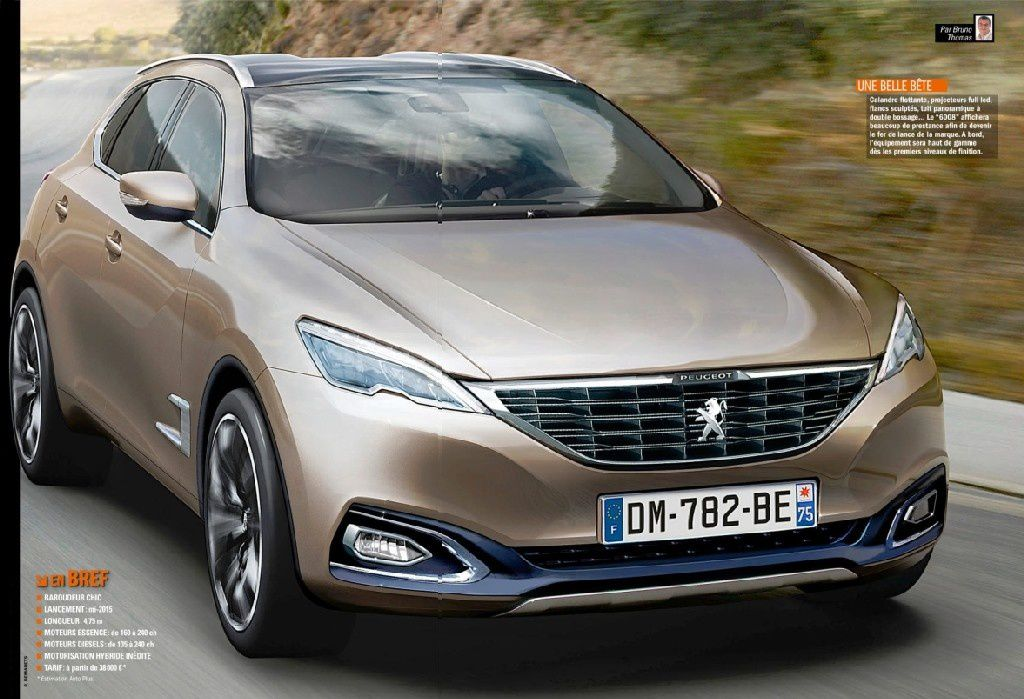 2014 new peugeot 6008 suv fcia french cars in america. Black Bedroom Furniture Sets. Home Design Ideas