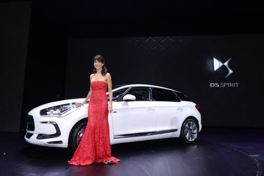 Sophie Marceau and the DS5