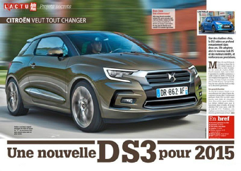 Scan from a French car magazine - Auto Plus