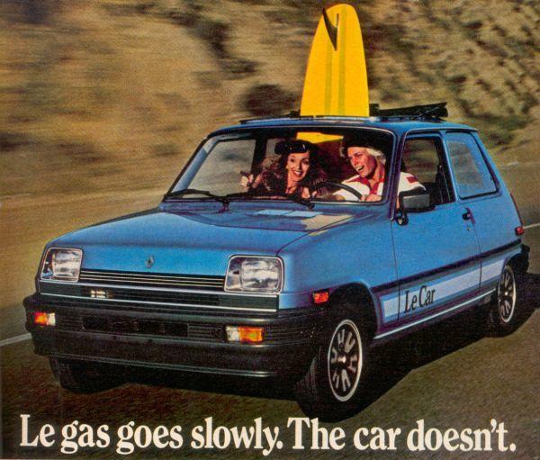 Renault LeCar advertising