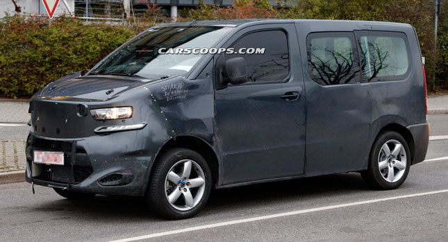 spied new citroen jumpy fcia french cars in america. Black Bedroom Furniture Sets. Home Design Ideas