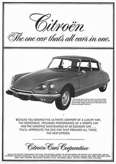 US / Canadian Citroën advertisements