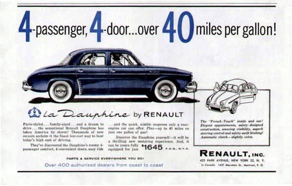 BEST OF AMERICAN RENAULT ADVERTISEMENTS