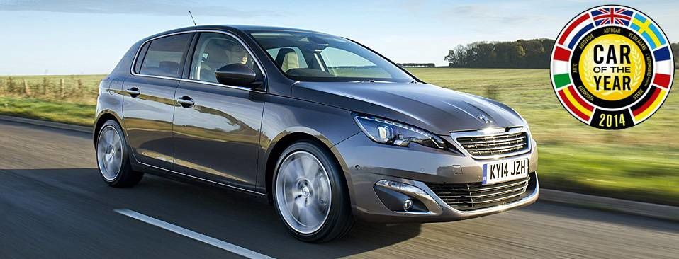 New Peugeot 308 / 2014 European car of the year