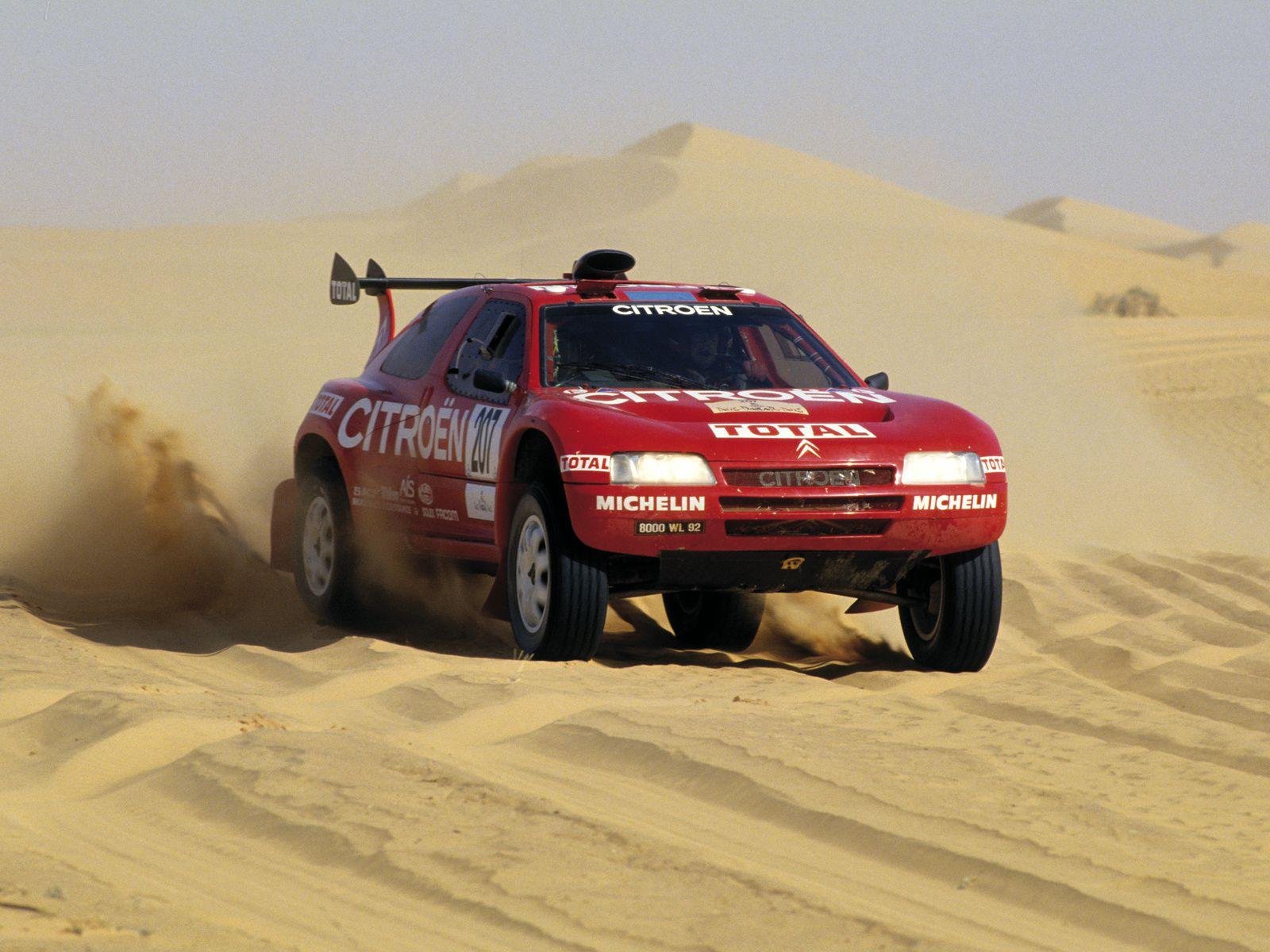 1993 Citroën ZX Rallye-Raid
