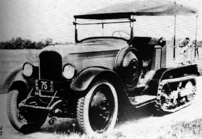 1922 Citroën B2 Half-Track from the Sahara crossing