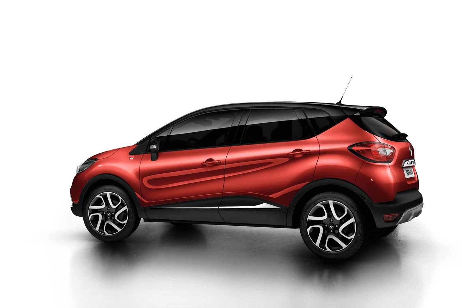 renault captur helly hansen limited edition fcia french cars in america. Black Bedroom Furniture Sets. Home Design Ideas