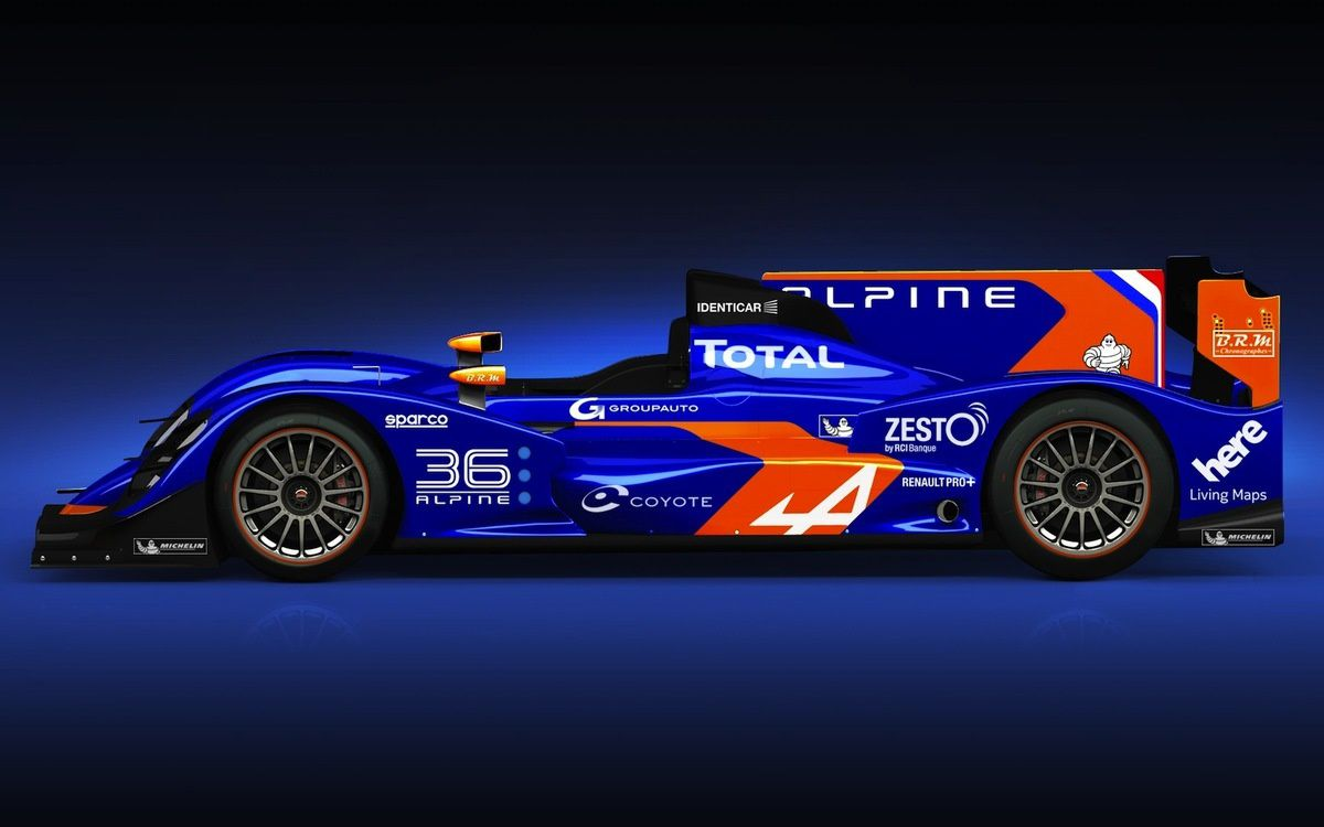 2016 RENAULT ALPINE - FIRST STEP : LE MANS