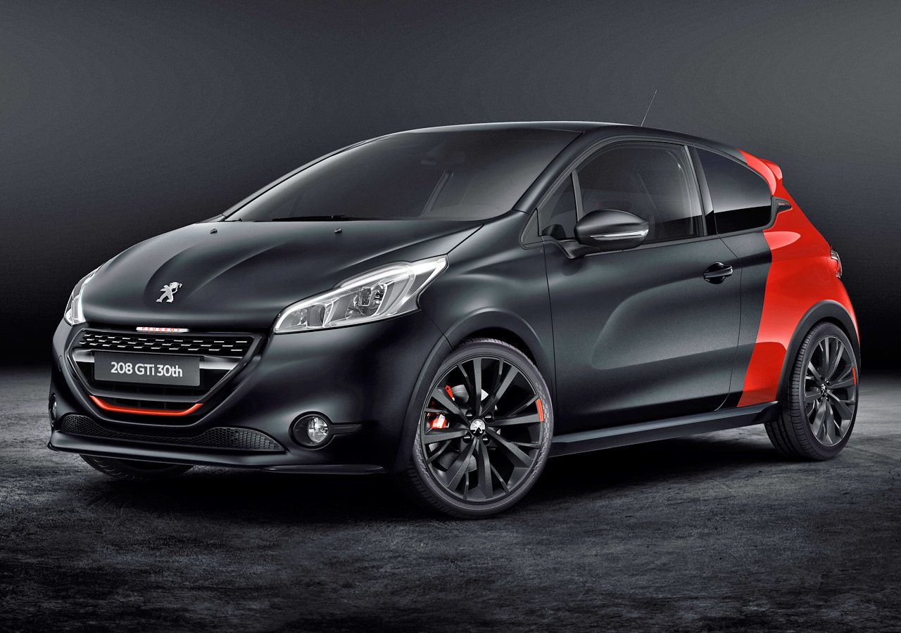peugeot 208 gti 30th anniversary at goodwood fcia french cars in america. Black Bedroom Furniture Sets. Home Design Ideas