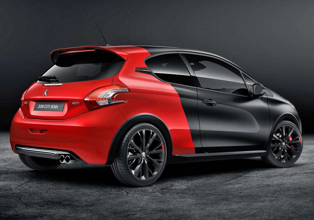 208 gti 30th anniversary limited edition revealed car wallpapers