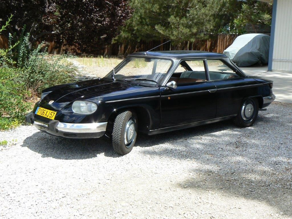 Previous John's Panhard 24bt sold to Lane Motor Museum