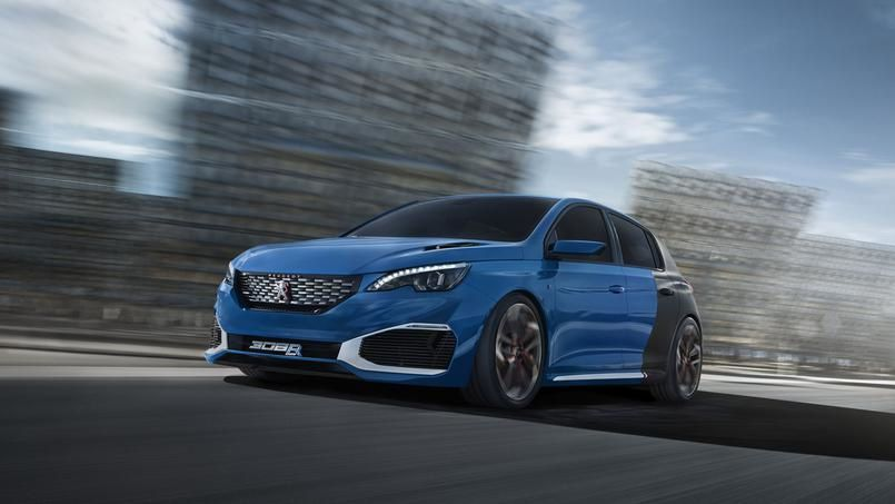 PEUGEOT 308 R HYBRID - IT IS TIME TO RACE