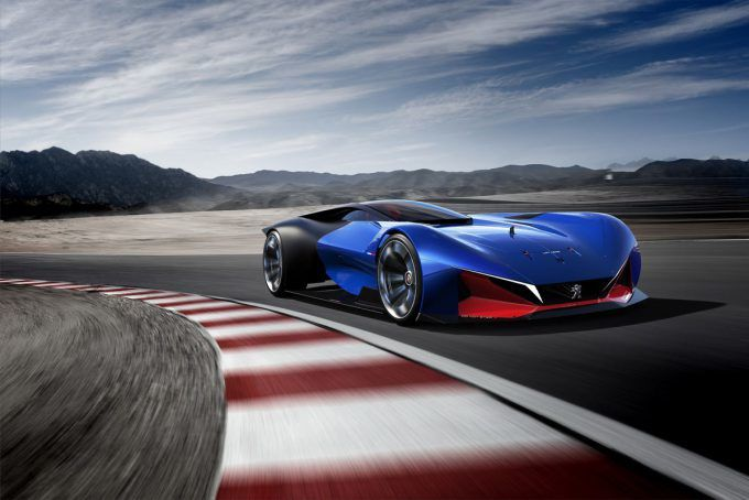 PEUGEOT L500 R HYBRID - TRIBUTE TO THE US VICTORIES