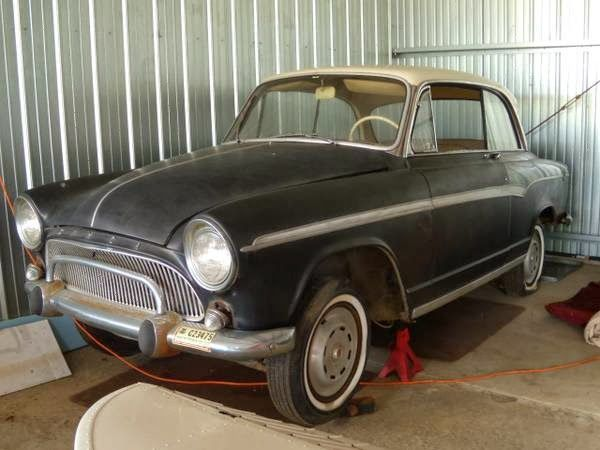 1962 Simca Aronde Coupe