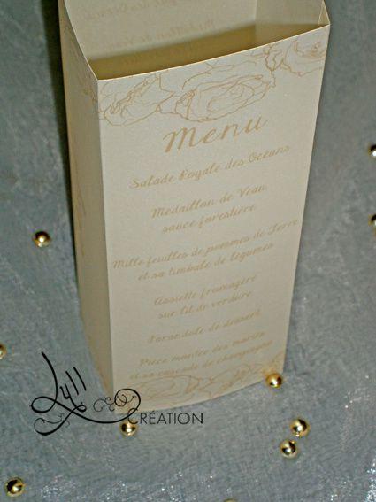 Thème romantique: gamme ivory rose