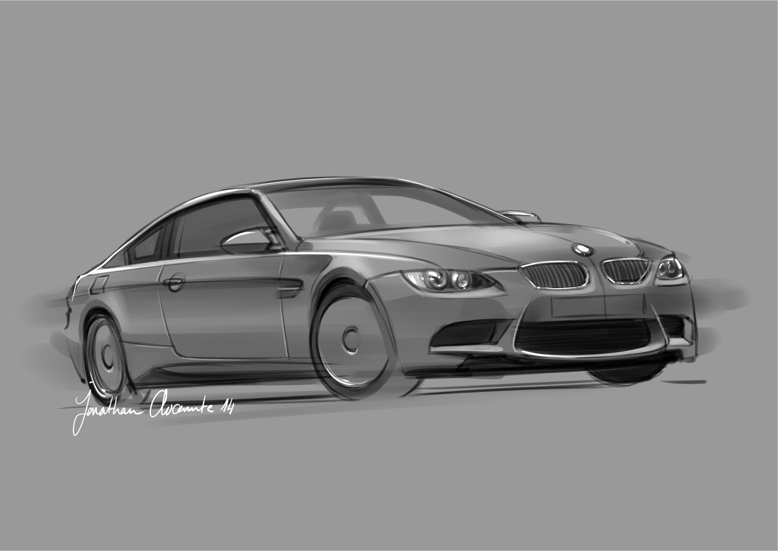 Speed &quot&#x3B;Sketching&quot&#x3B; - BMW