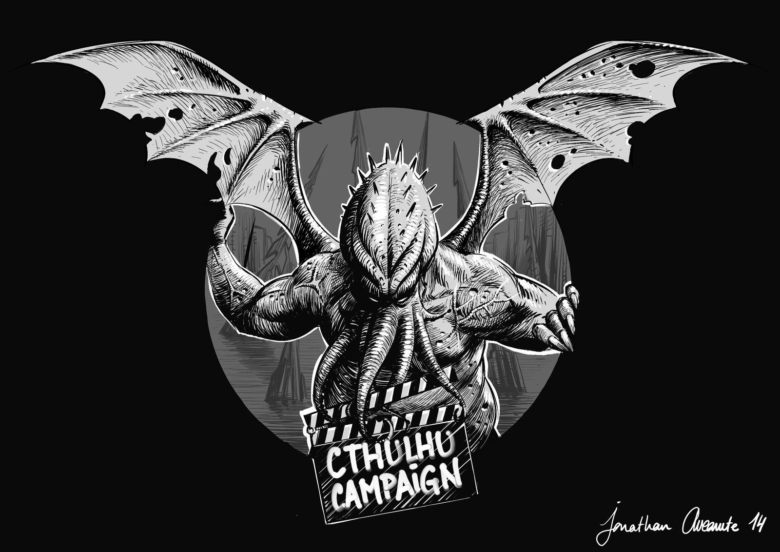 Cthulhu movie campaign logo