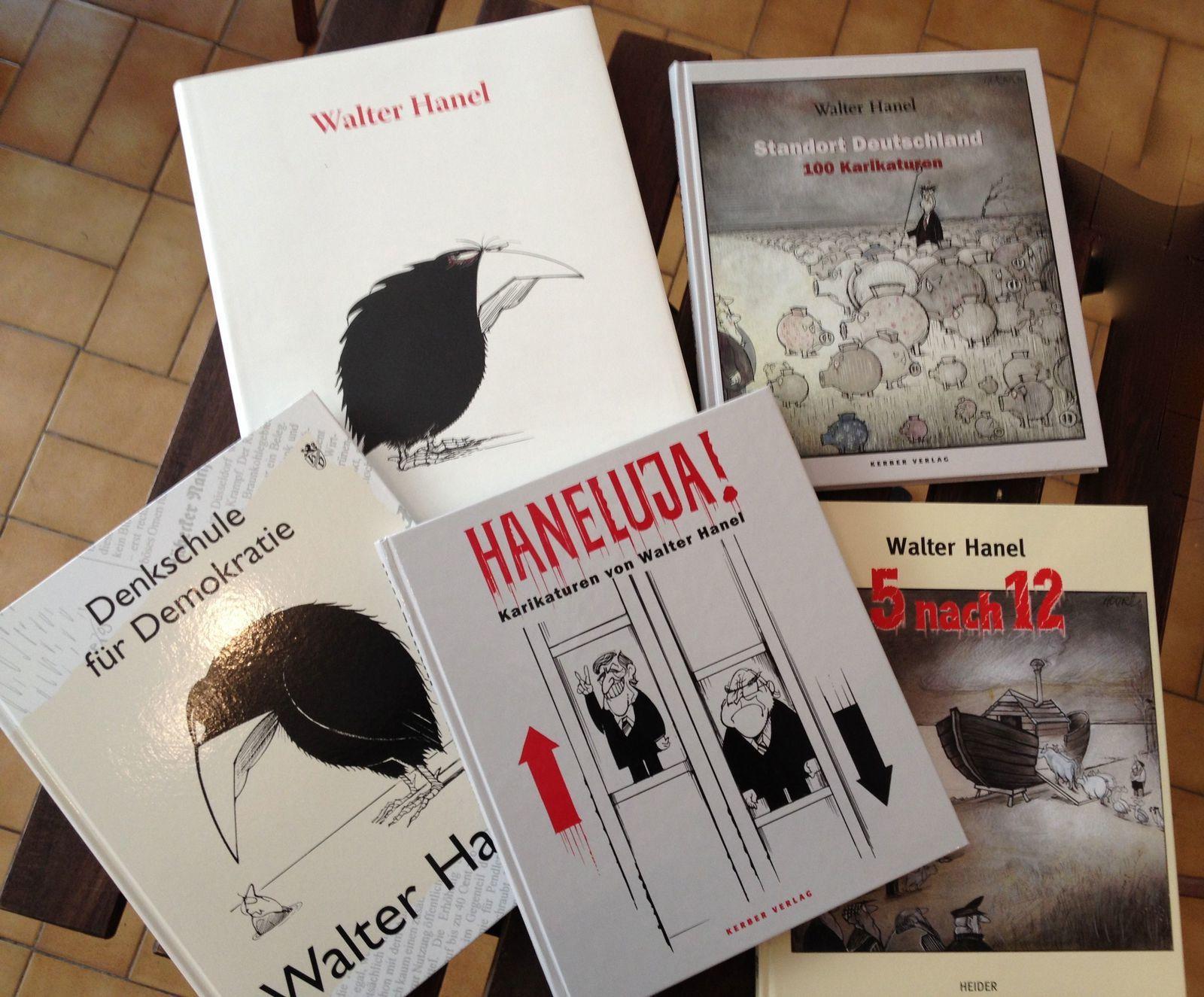 Plusieurs dizaines de livres ont été publiés sur Walter Hanel…