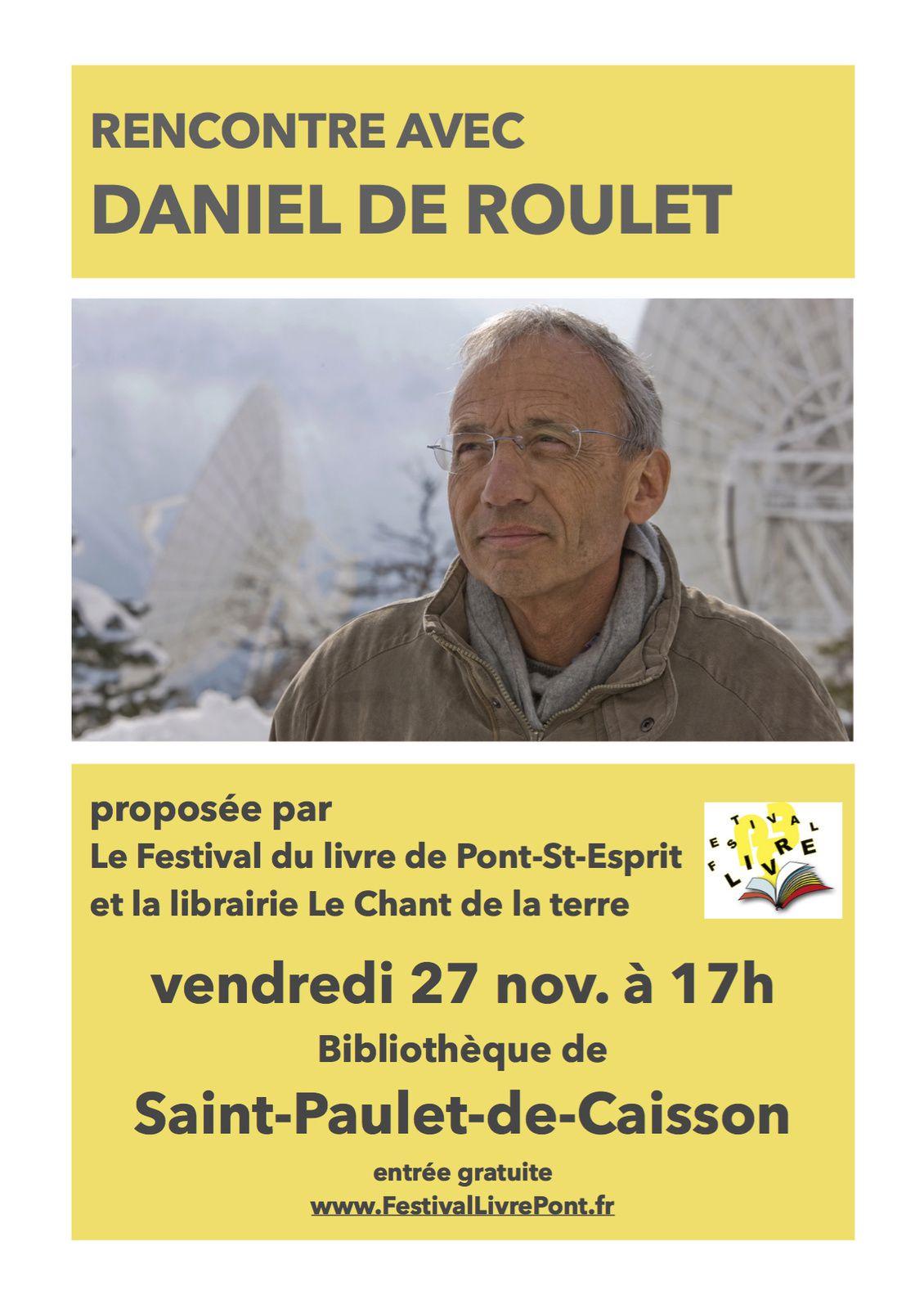 Rencontre avec Daniel De Roulet