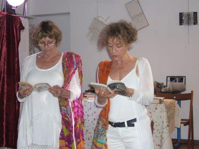 Claudine Kimmerlé et Jo Méjean