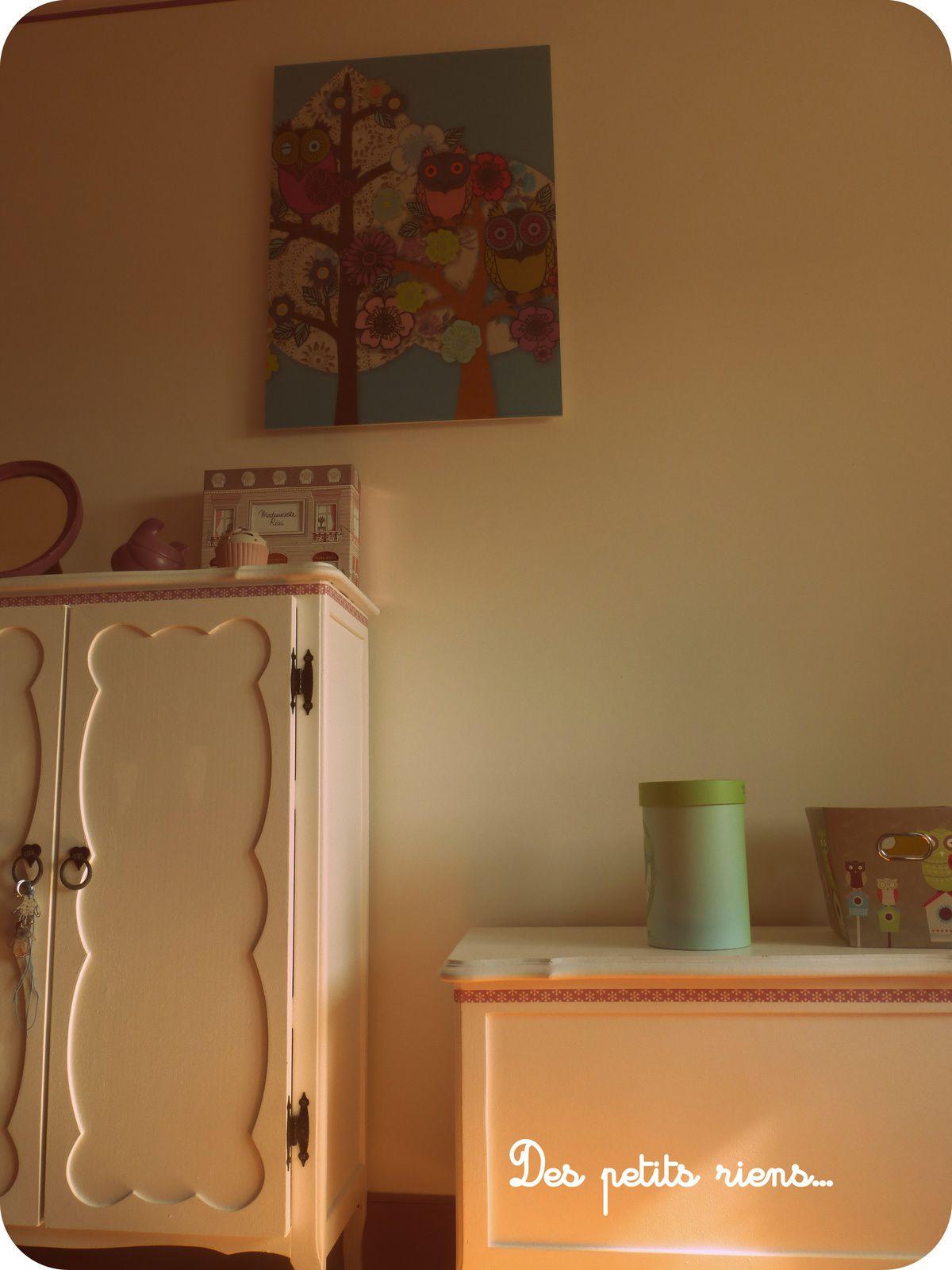 Sa chambre...