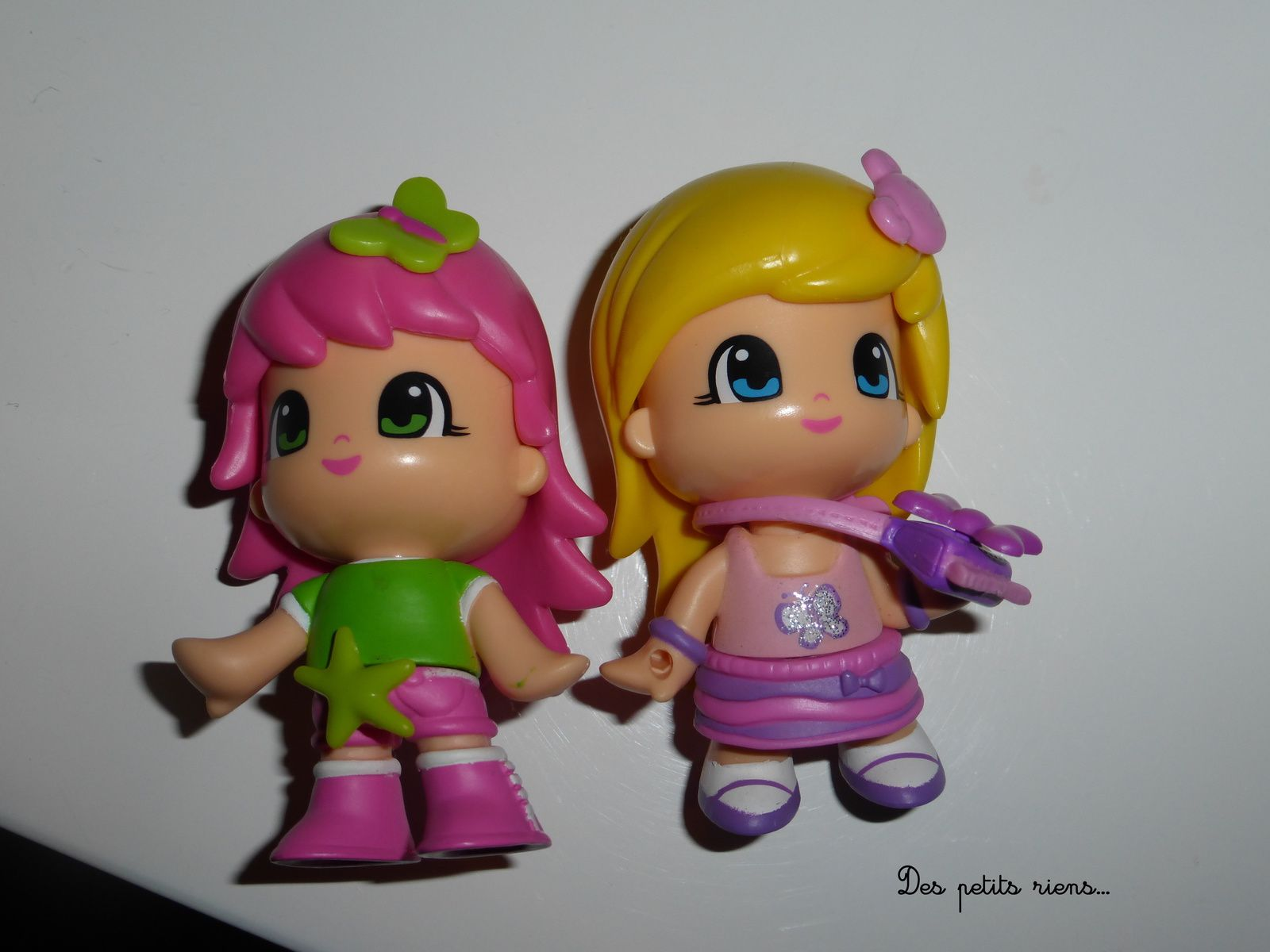 Les petites poupées...