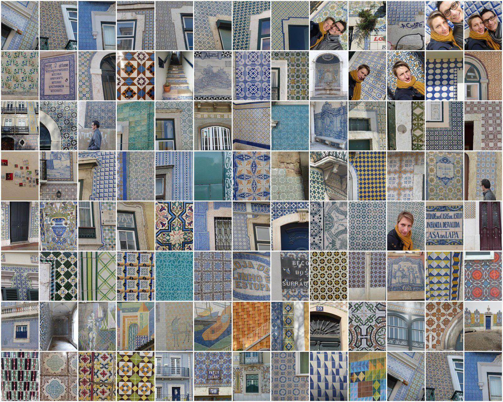 Lisbonne #1 les azulejos