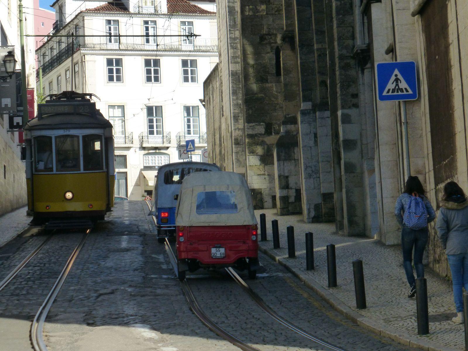Lisbonne #4 les tramways