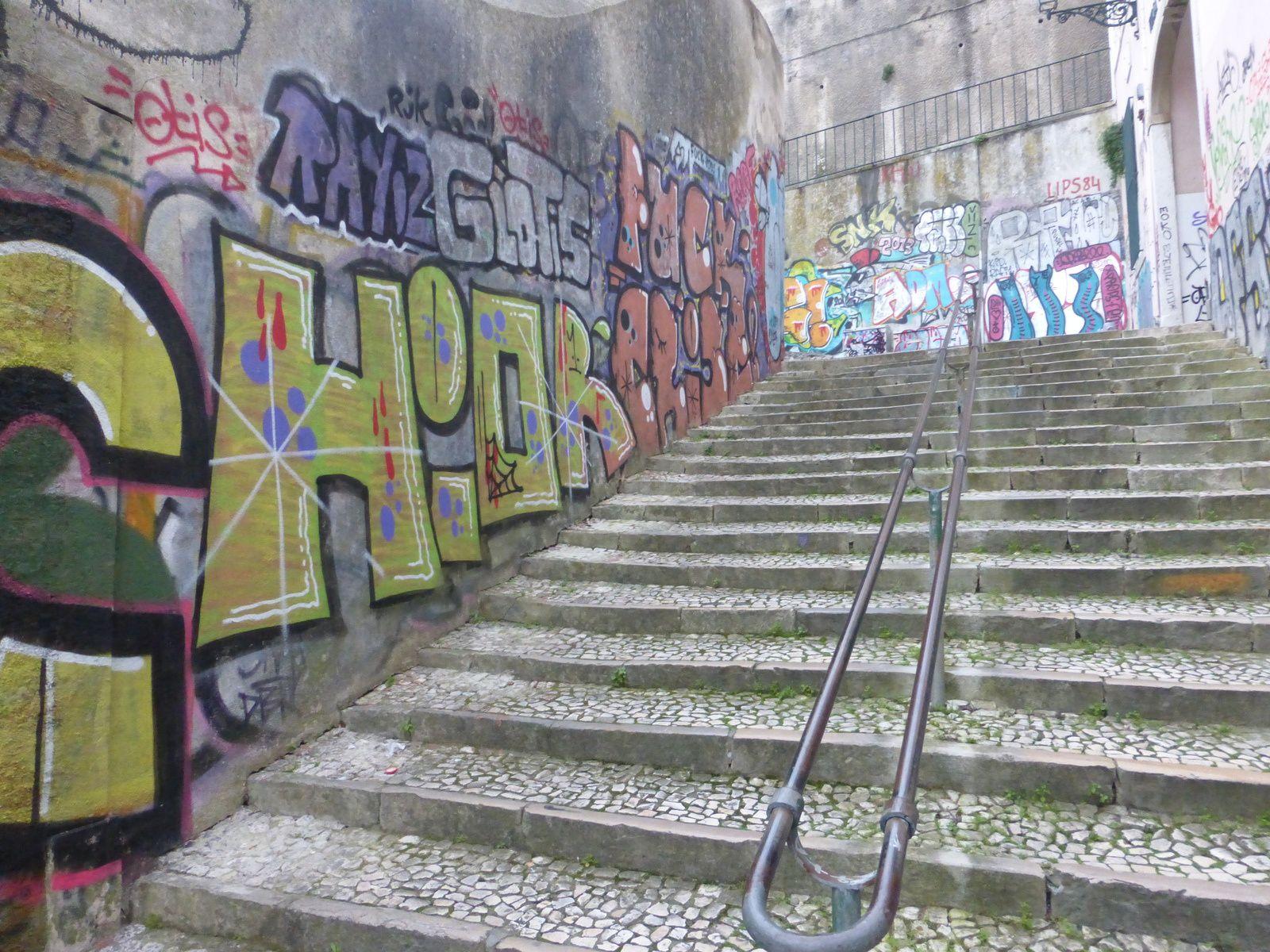 Lisbonne #3 l'art urbain