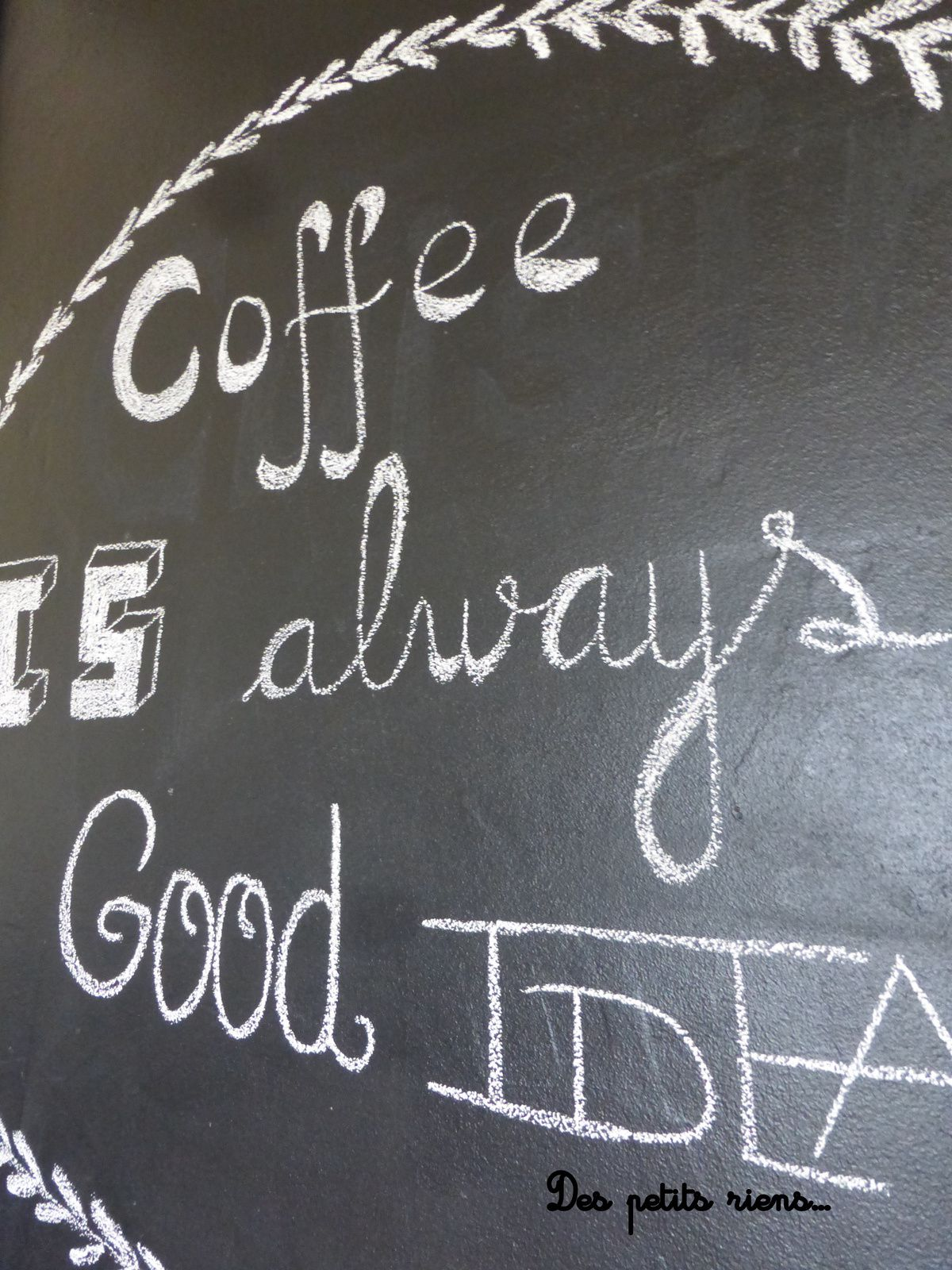 Coffee is...