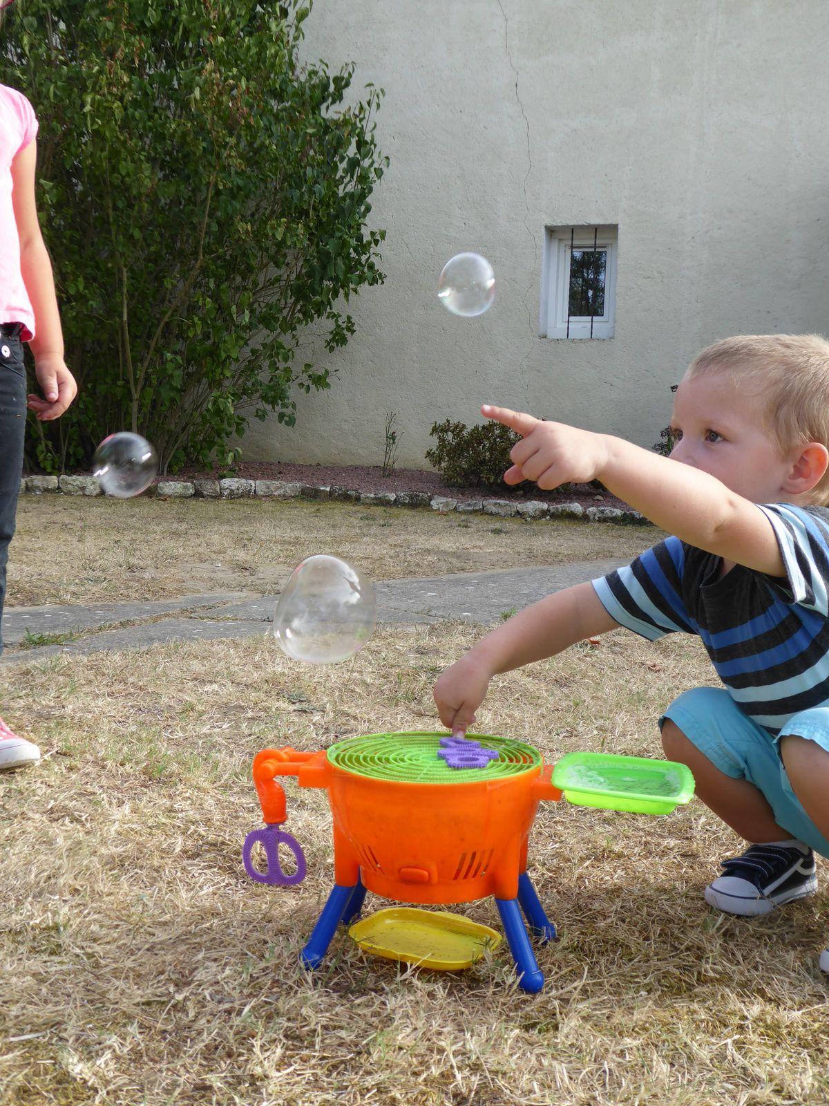 Le barbecue à bulles