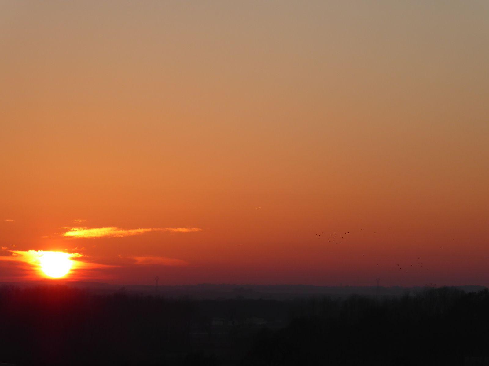 Le soleil a RDV avec la lune...