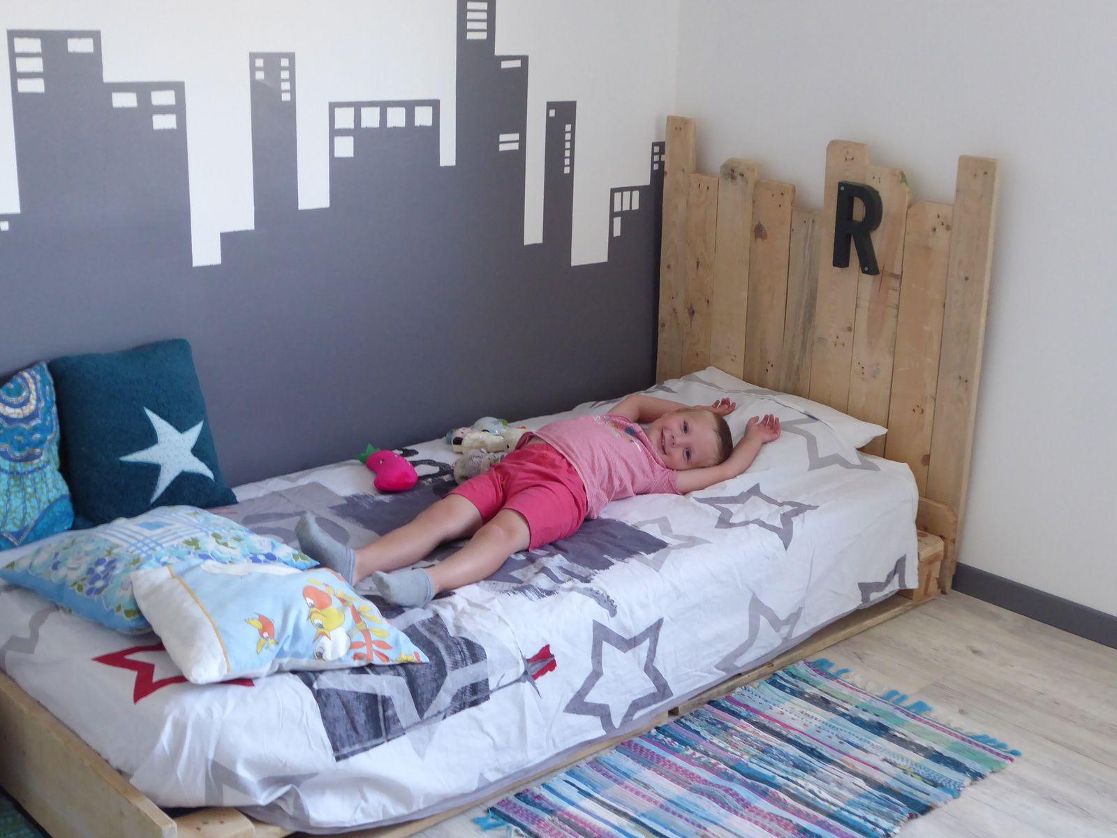 Le lit en palettes de Ruben