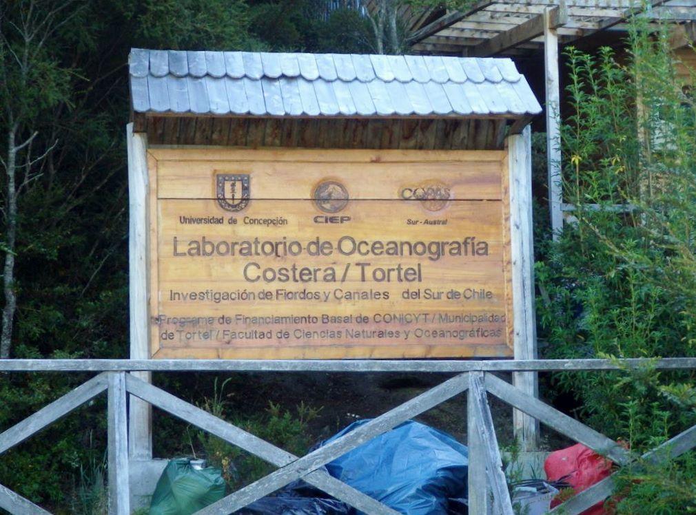 Caleta Tortel a même un institut océanographique