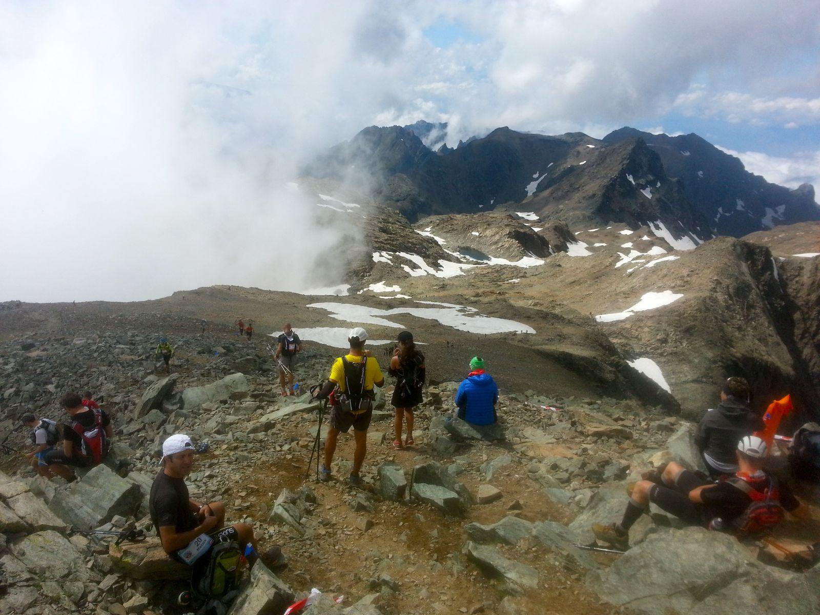 Au sommet de Belledonne, 2926m