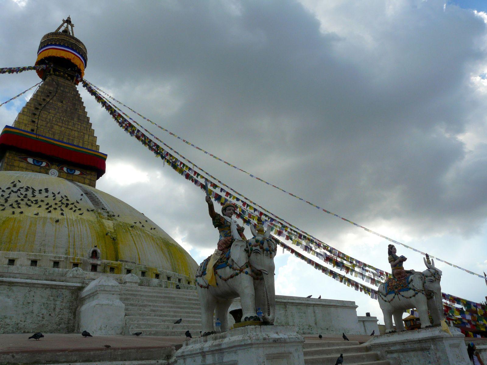Bodnath, sanctuaire bouddhiste de Katmandou