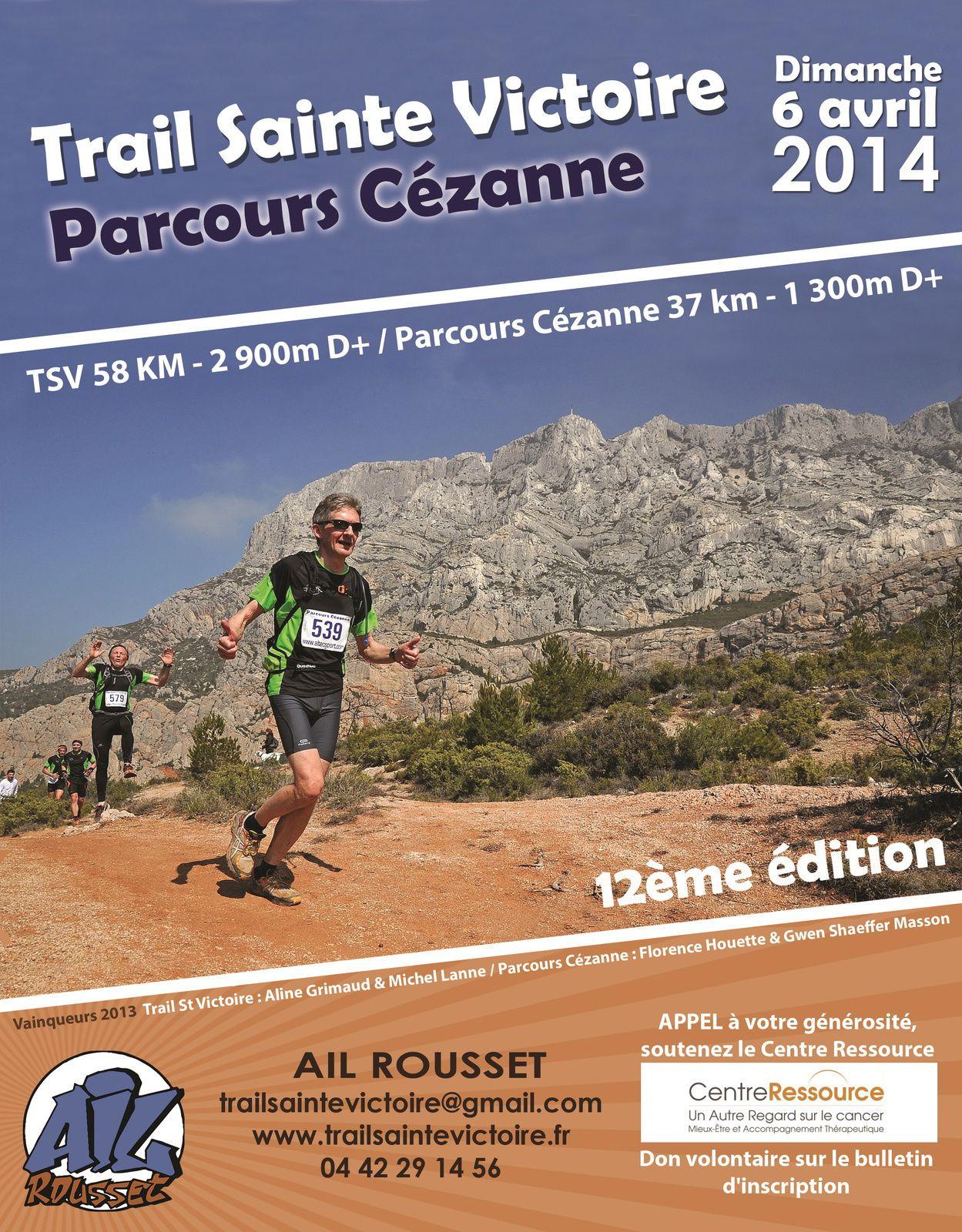 Trail de la Sainte Victoire : chaud !! chaud !! chaud !!